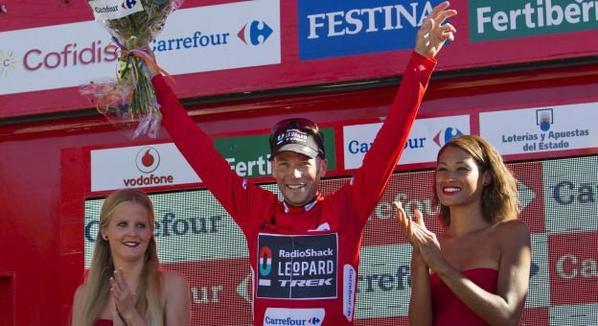 Tour d'Espagne 2013 (20eme étape) : Keny Elissonde vainqueur au sommet de L'Angliru, Christopher Horner va remporter l'épreuve...à bientôt 42 ans