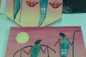 Atelier à la cmcas home déco africain du 25 octobre 2012