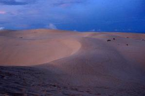 White sand dunes in Muine