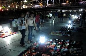 Night market in Hue province,