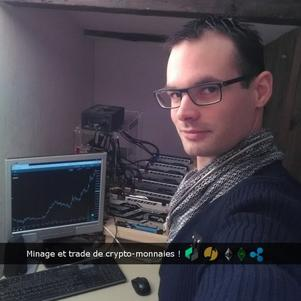 GAIGHER Yohan Minage et trade de crypto-monnaies