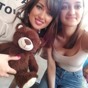 Ma vie, elle est tellement mignonne et adorable je t'aime ♥
