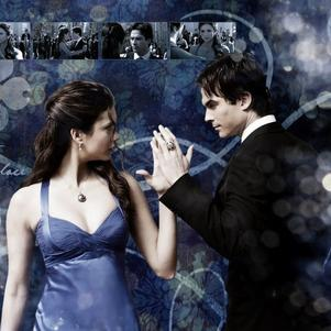 Elena et Damon <3