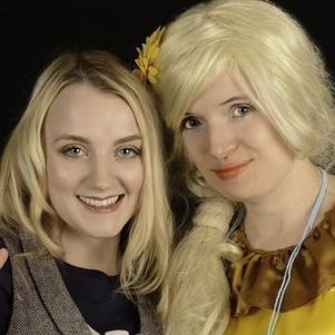 EVANNA LYNCH - Luna Lovegood dans les films Harry Potter