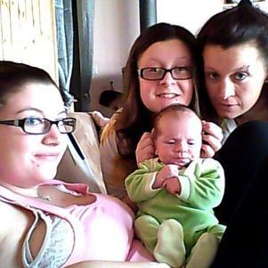 Moi, ma soeur, ma mère et mon fils !!!