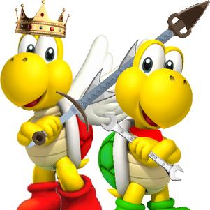 roi paratroopa & koopagnon