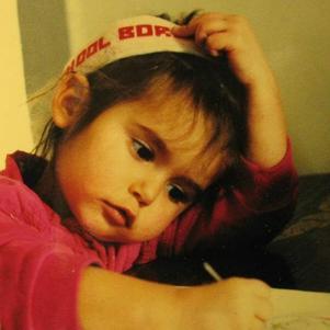 Nina petite, trop chou ^^