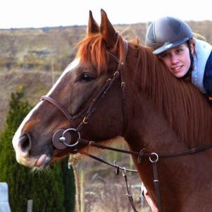 Mon cheval <3 et moi :D
