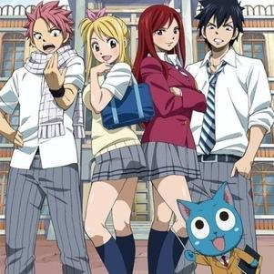 Fairy Tail high school