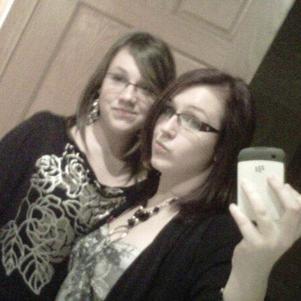 Moi et ma grande soeur.. :D