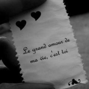 L'amour de ma vie, c'est toi ♥