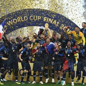 France Championne du Monde 2018 ! Un bonheur !