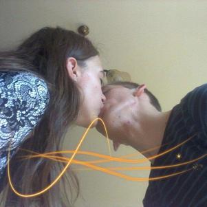 Mon homme, 1 an et 10 mois avec toi, tu es ma vie<3.