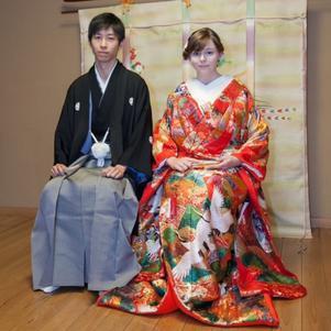 Une de mes photos de mariage avec Yusuke o/