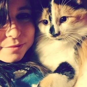 Aurore, mon chaton d'amour <3