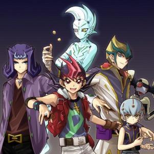 Shark,Yuma,Haruto,Kaito et Astral