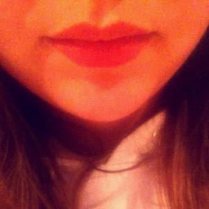 My lips.. ♥