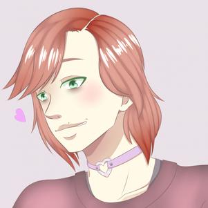Pastel autoportrait ♥ Moa