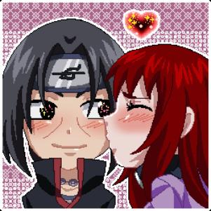 Commission: Itachi et Ana (Naruto Shippuden)
