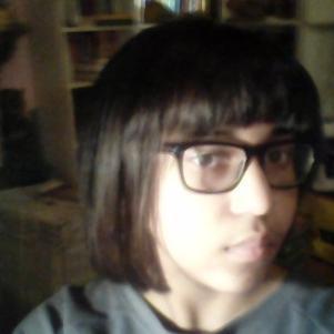 nouvelle coiffure enfain je me lisse les cheveux