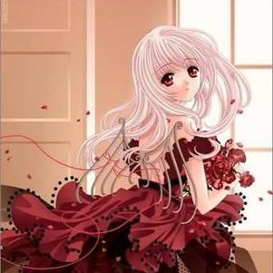 Manga rose rouge