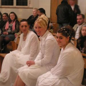 le jour de notre batême 12 mars 2009