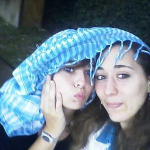 morgane & moi ( fin juillet 2009 )