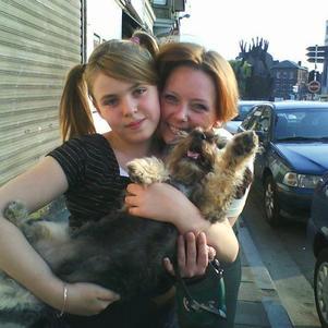 c moi,ma fille et mon tit chien