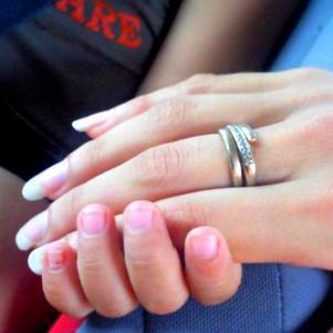 Ma main & celle de Mon fils <3