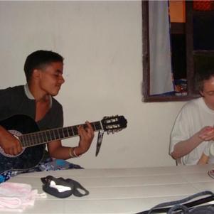 I play a guitare