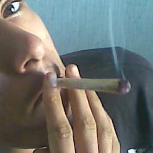 moi en fumette
