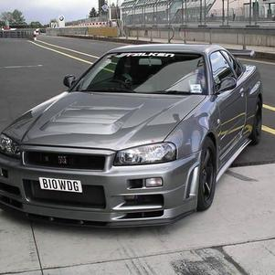 nissan skyline cool comme voiture