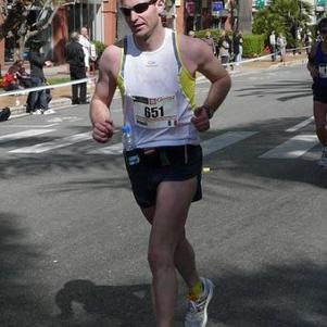 Au marathon de MONACO en mars 2009