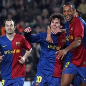 Messi && Iniesta  && Henry