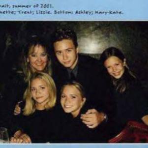 mary-kate et ashley et leurs familles