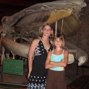 moi et ma petite soeur cette ete