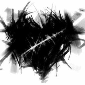 un coeur noir s psk s se ke g ai en se moment