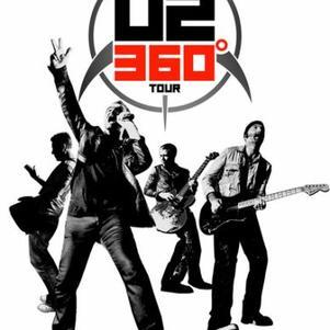 Affiche du U2 360° Tour