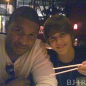 Usher & Justin .