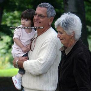 Avec les parents de Katie