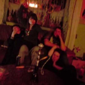 Actualisons un peu les photos ! Noël 2009 - chez Laura.