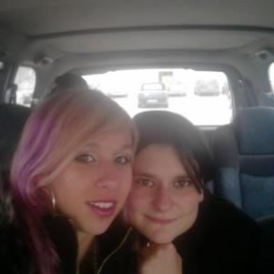 moi et ma petite soeur d'amour