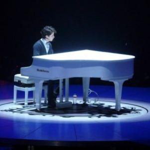 Nick au piano