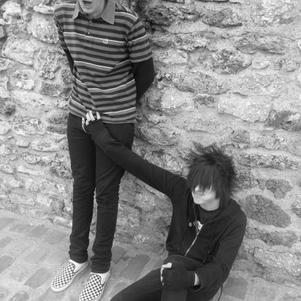 Moi and belmondo :p