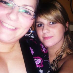 Avec ma p'tite soeur à noël