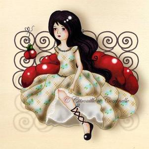 Mon image favorite : Blanche-neige.