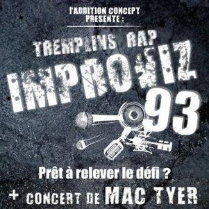 "Tremplin ""IMPROVIZ'93"" + MAC TYER"