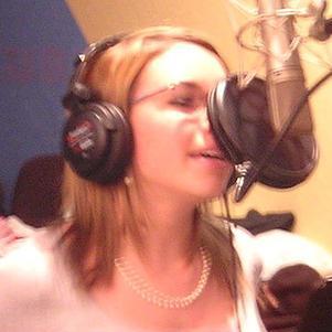 en studio :p