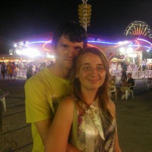Mon chéri et moi à la fête foraine