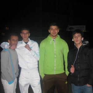 Ry2S 2010 de g0che a droite =>Yassin - Rashid - Hakim-Sofian
